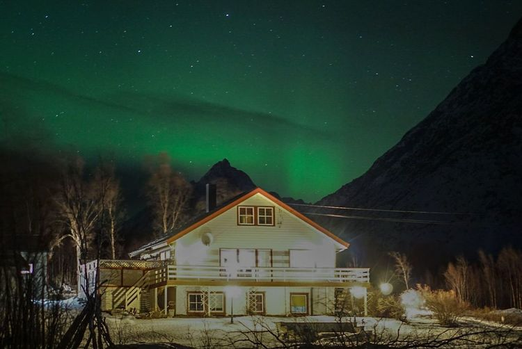 amaaaaazing Lyngen Alps Aurora Borealis Norway Northern Lights Nature_collection Nature Photography Photography Sony A6000 Sonyalpha Nightphotography Night Nightsky EyeEmNewHere EyeEm Selects Travel Winter Snow Night House Cold Temperature Star - Space Barn Outdoors Nature Sky Astronomy Landscape An Eye For Travel