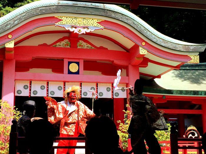 神楽 KAGURA Shimonoseki Kagura Akama Shrine 下関市 赤間神宮 神楽 Architecture Lifestyles Spirituality Shrine