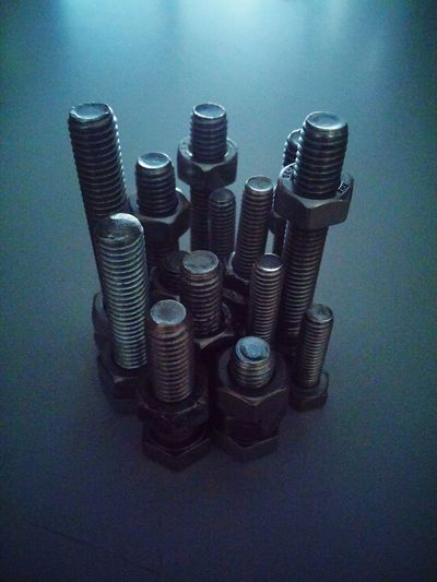 Bolts Building Skyscraper Skyscrapers Modern Structure One Handful Bolt