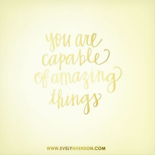 Hello World Be Amazing Smile ✌