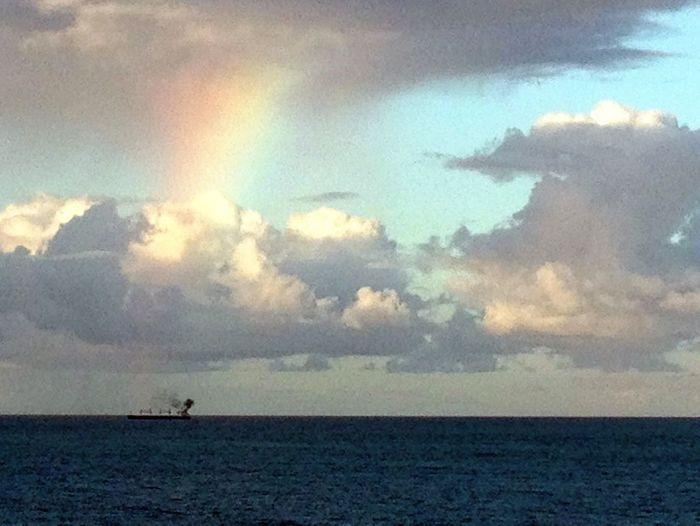 A Rainbow Is Born