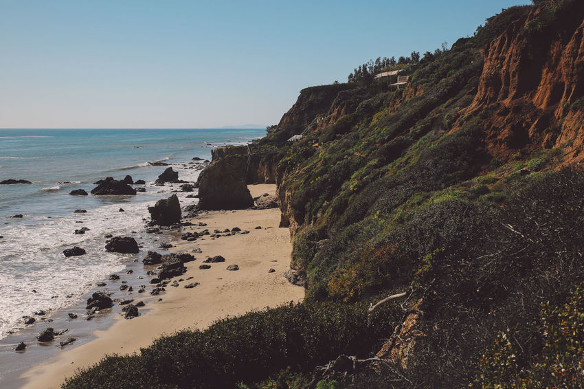 California El Matador Beach Pacific Beach Beauty In Nature Clear Sky Cliff Day Horizon Over Water Nature No People Ocean Outdoors Rock - Object Scenics Sea Sky Tranquil Scene Tranquility Water California Dreamin