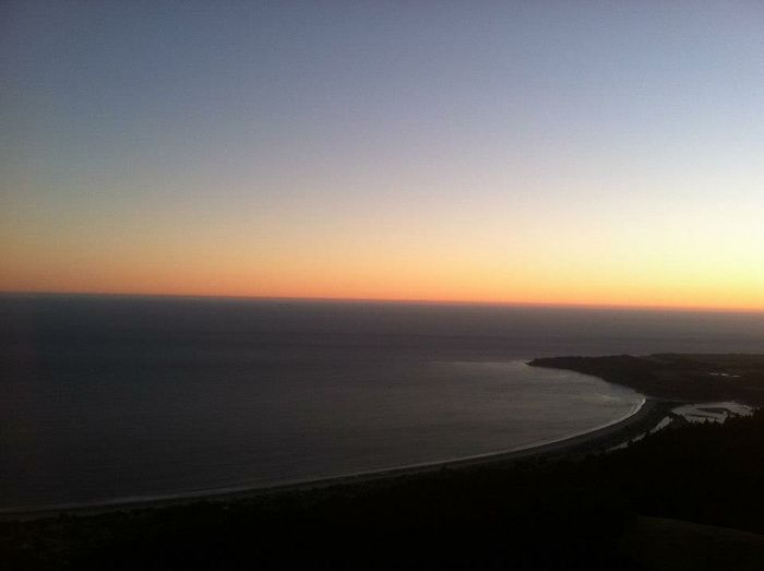 Sausalito California Mt Tam Amazing View Sunset Landscape