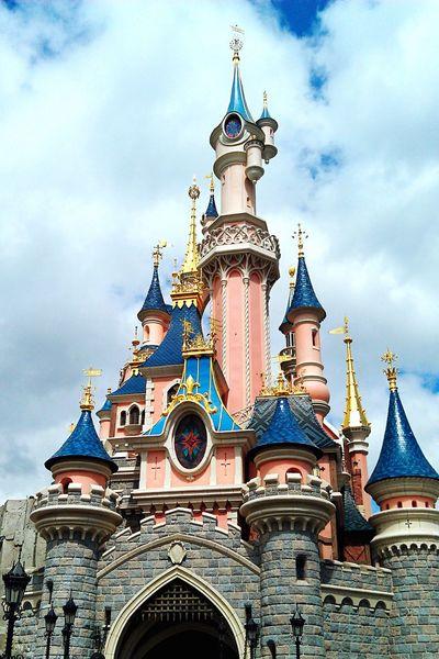 Disney Disneyland Cinderella Castle Disneylover No People in Disneyland Paris , France