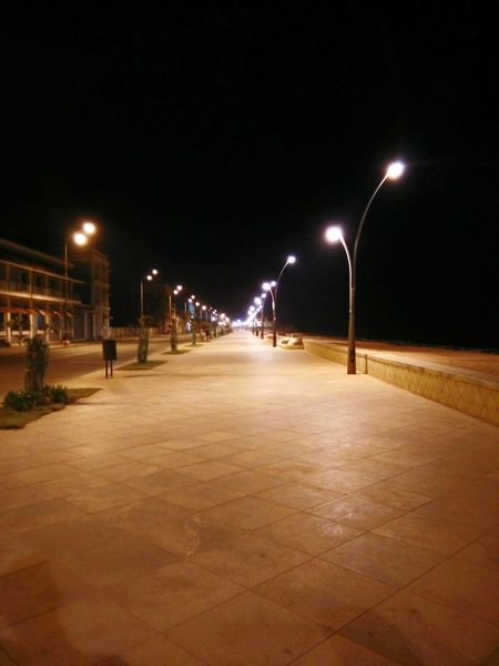 Pondicherry RockBeach Calmness