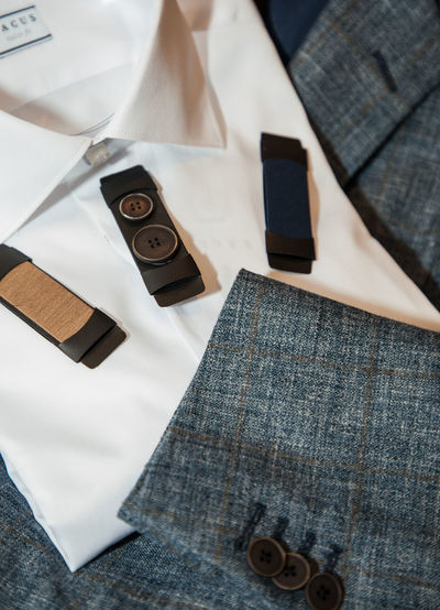 Business Suit Tailor Tailored To You Bow Tie Close-up Clothing Day Directly Above Fasion Focus On Foreground Group Of Objects High Angle View Indoors  Large Group Of Objects Menswear No People Retail  Selective Focus Shape Still Life Store Table Textile White Color