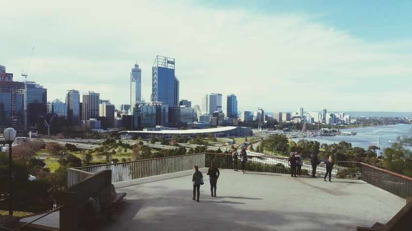 Overlook of Perth City, Western Australia from King's Park in 2016 City Cloud - Sky Urban Skyline Sky Outdoors Skyscraper Rear View Architecture Cityscape Building Exterior People Modern Day Perth Australia Perth Skyline Perth One Person Fresh On Eyeem  Perthcity Perth City Perthlife