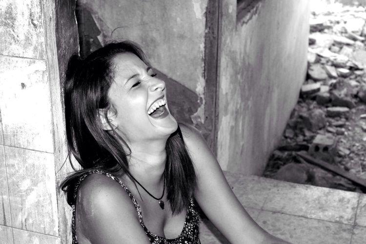 Arcos De La Frontera Laught Black & White Canon Eos 1100 D