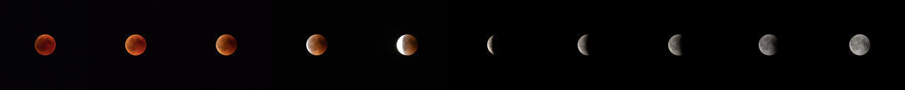Blood Moon 2018 Lunar Eclipse Moon Astronomy Beautiy In Nature Blood Moon Lunar Eclipse 2018 Night No People Scenics - Nature Sequence Sky Space