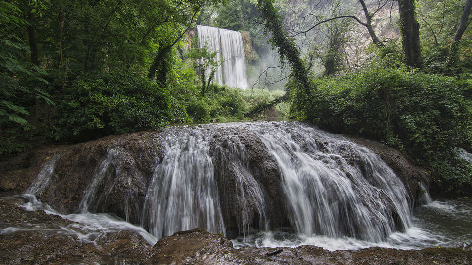Beauty In Nature Flowing Water Long Exposure Monasterio De Piedra Nature Tranquil Scene Tranquility Waterfall