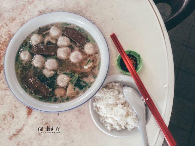 Yam Rice Pork Soursoup Meatballs Yummy EnjoyTheMoment Followme Penang Like Hello World