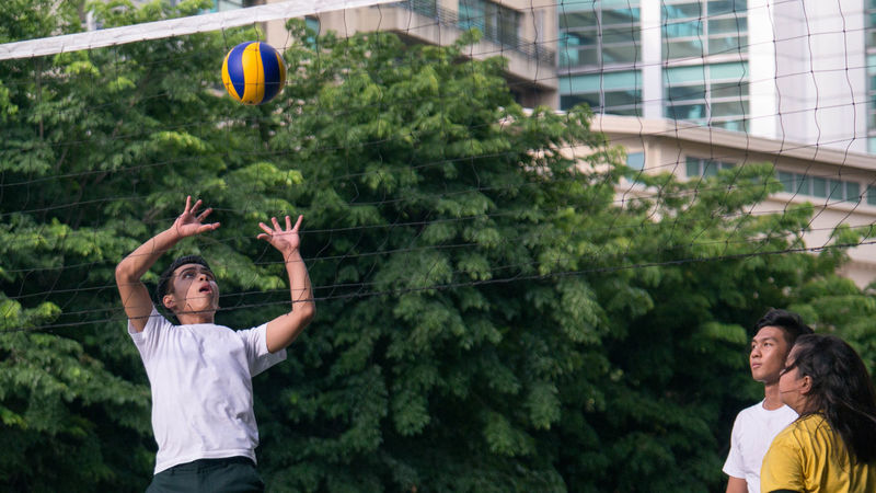 Sports Photography Leisure Activity Volleyball Outdoors Portrait Samsungphotography The Portraitist - 2016 EyeEm Awards Everyday Emotion The Human Condition Faces Of EyeEm