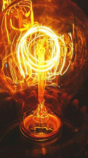 Illuminated Circle Electric Light Creativity Geometric Shape Edison Bulb EdisonLight Light Warmlight Motion Illuminated Travel Destinations Circle Concentric Electric Light Creativity Geometric Shape Tourism Formation