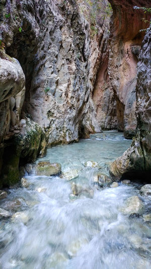 Imnew Water Rock - Object Nature No People Beauty In Nature Tranquility Scenics Rio Chillar Nerja Beauty Nerja Spain River