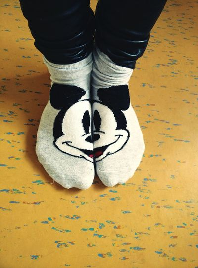 Socks Disney Mickey Mouse Cute Girlthings Fashion Streetfashion