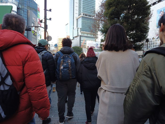 Streetphotography Urban Cityscape City People Urban Life Tokyo Japan Travel Group Of People Rear View Architecture Women Building Exterior Real People Street Adult Built Structure City Life Walking Men Transportation Day Crowd City Street Clothing Road Warm Clothing Outdoors Office Building Exterior Skyscraper