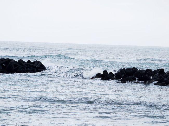 2018.01.28 #新潟県 #糸魚川市 初の冬の日本海でした。めっちゃ感動しました‼︎ 海 糸魚川市 新潟県