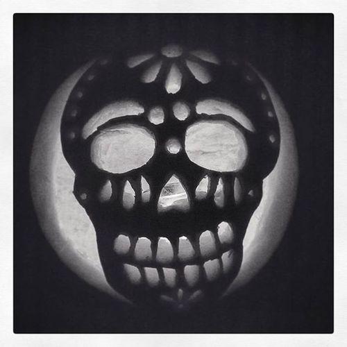 Annual Manfriends Pumpkincarving Halloween Pumpkin @bentolee Omg Toomuchwork Jackolantern Dayofthedead Happyhalloween