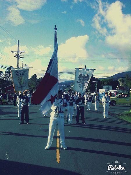 Parades Panamá Highlands Bands