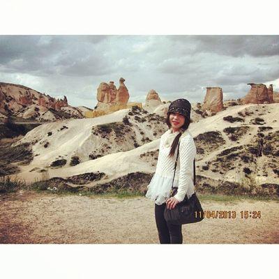 ImaginaryValley Cappadocia Turkey 20130411 Camel