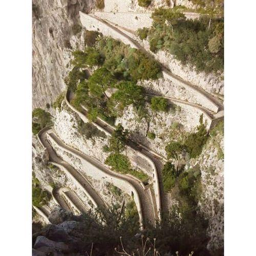 Sendero a Marinapiccola sendero de Aventuras ;) Isla Isladecapri Capri Italia