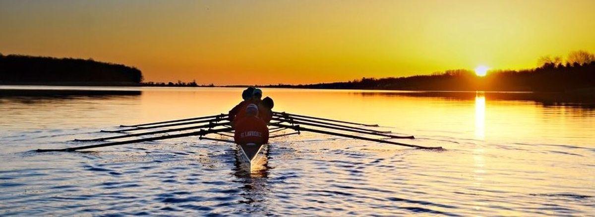 Rowing Stlawrence Crew Outdoors Enjoying Life Beautiful Beauty