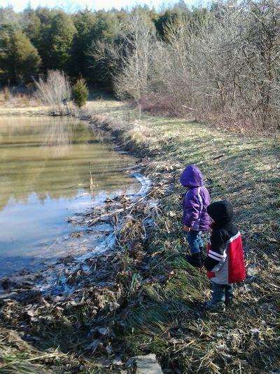 Worthville Ky Farm. Nature Grandchildren
