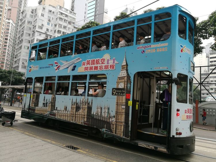 Bus HongKong Londonbus