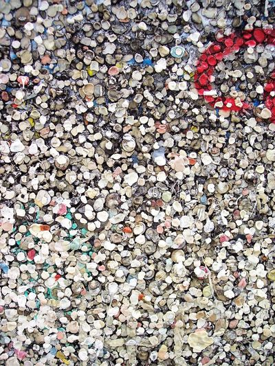 Texture Textured  Surface Chewing Gum Chewinggum Bubble Gum Wall Bubble Gum Chewing Gum Wall Used Backgrounds Full Frame Multi Colored Close-up