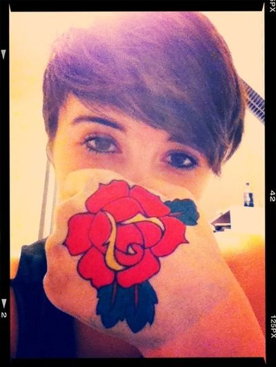 Can Finally Draw A Rose
