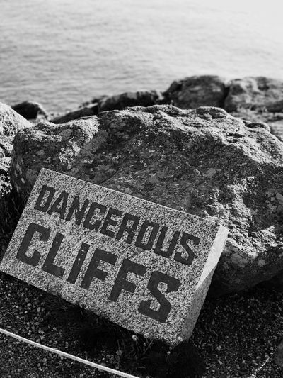 Dangerous cliffs