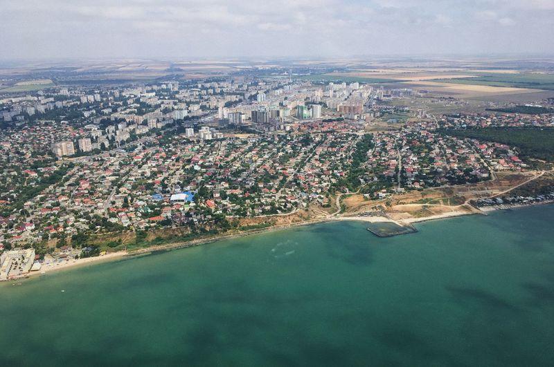 Odessa city from a bird's eye view