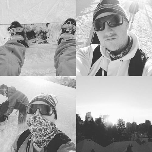 Snowy Boardin Funfunfun Canadaolympicpark Sunshine