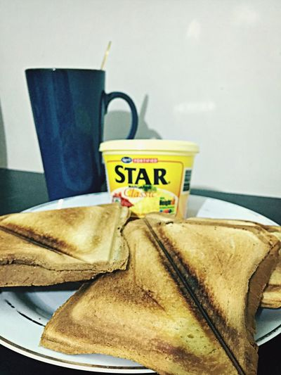 Toasted Bread for breakfast Toasted Sandwich Starmargarine
