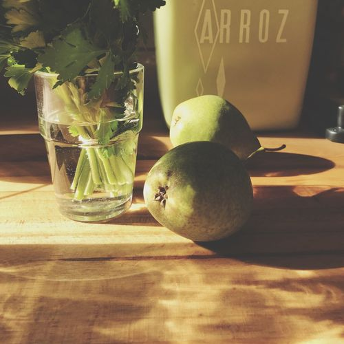 Kitchen Fruit Green Pears Pearls Arroz Autumn Sunlight Kindofgreen