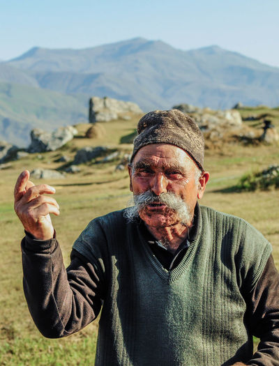 Azerbaijan Caucasian Caucasus Culture Ethno Mountain Nikon One Person Outdoors People Photo Portrait Real People