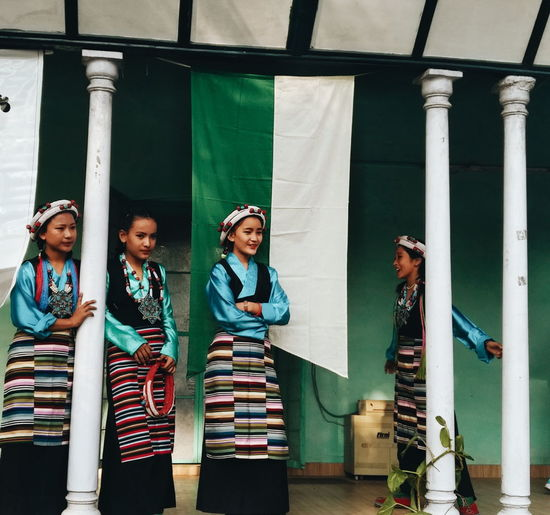 Tibetian Culture Rajpur Nature Festival Young Women Tibet Dehradun