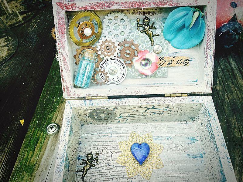Gypsy Girl Doghairstudio Gifted Art Handmade Stashedboxes