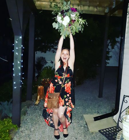Caught the bouquet Im Next Wedding Bells Great Time  Love In The Air