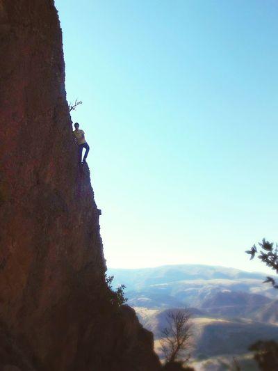 Bazı yerler Zirveden daha değerlidir.. Tırmanış !