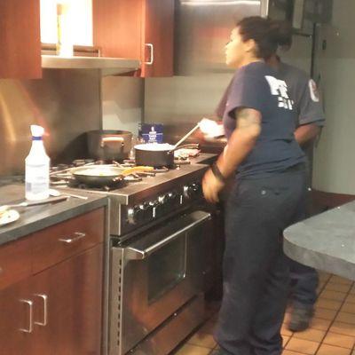 Lmao @signedchyna ass cooking lmao!