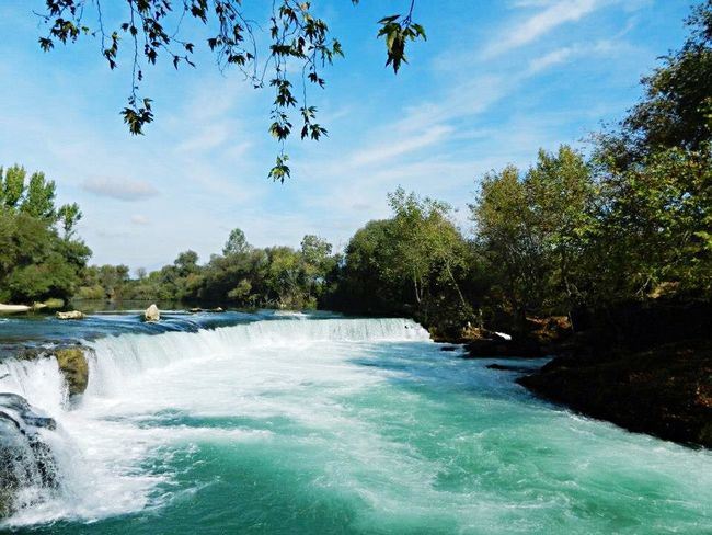 Turkey Antalya Manavgat Waterfall Water_collection Seascape Sea And Sky Traveling Relaxing Enjoying The View