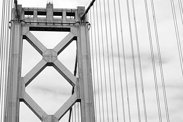 X marks the spot Oakland Berkeley San Francisco Bay Bridge Traveling Home Sweet Home Architecture Bridges