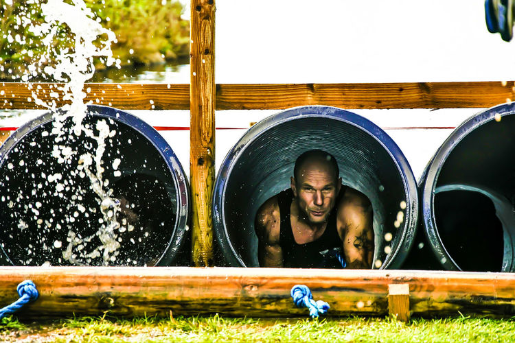 When you feel like your stuck in a hole, there's always someone worse off than you! Muddy Mayhem For The Love Of Photography Manual Mode Photography Muddyrace People Photography HardwickPark Sedgefield People Watching Keep On Snapping Words Of Wisdom... One Person Headshot Real People