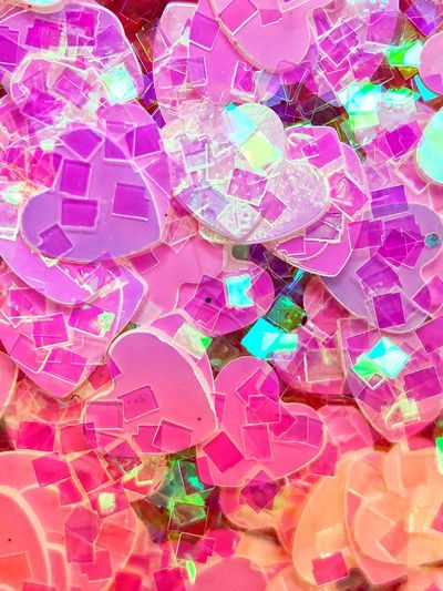 Hearts Heart Shape Heart Multi Colored Full Frame Pink Color Backgrounds No People Pattern Close-up Love Positive Emotion Celebration Art And Craft Shape