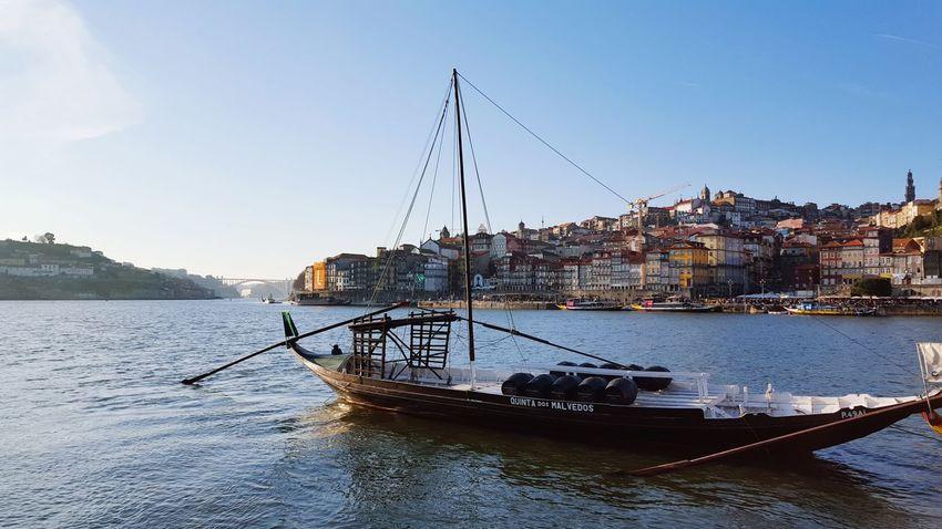 Nautical Vessel Water Outdoors Sea No People Sky Day Nature Bird City Sailing Ship Portugal Porto Porto