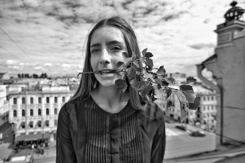 будни аудитора Model Rooftop Saint Petersburg крыши Петербурга Summer Black & White Невский проспект