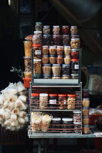 Food for sale in store
