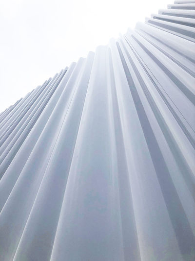 Structure of a building Architecture Architecture_collection Campus Textured  Architectural Column Architecture Bright Building Building Exterior Built Structure Close-up Curtain Day Low Angle View Modern Nature No People Outdoors Pattern Sky Sunbeam Sunlight Vitra White White Color The Architect - 2019 EyeEm Awards