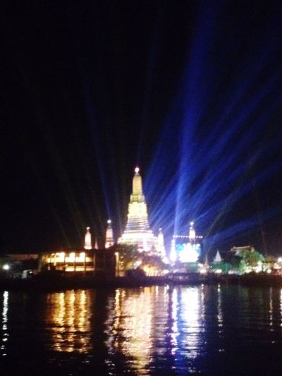 Countdown night Happynewyear2016 (null)วัดอรุณราชวรารามฯ (wat Arun Rajwararam) Hello World happynewyear2016 Bangkok Thailand.